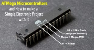What is ATMega Microcontrollers & How to Make an LED Project with it?