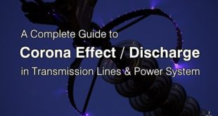 Corona Effect in Transmission Lines & Power System
