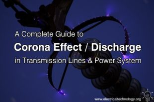 A Full Guide about Corona Effect - Corona Discharge in Transmission Lines