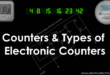 Counters and Types of Electronic Counters