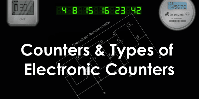 Counter and Types of Electronic Counters