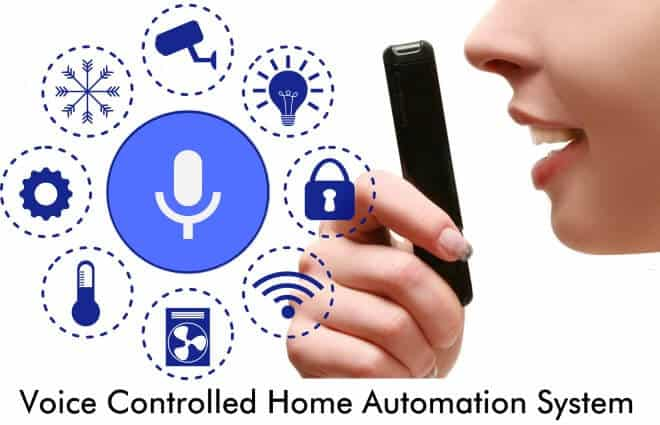 Voice Controlled Home Automation System using 8051 Microcontroller