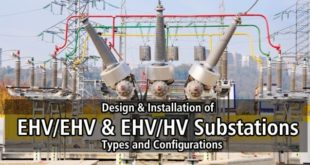 Design and Installation of EHVHV and EHVHV Substations - Types and Configurations