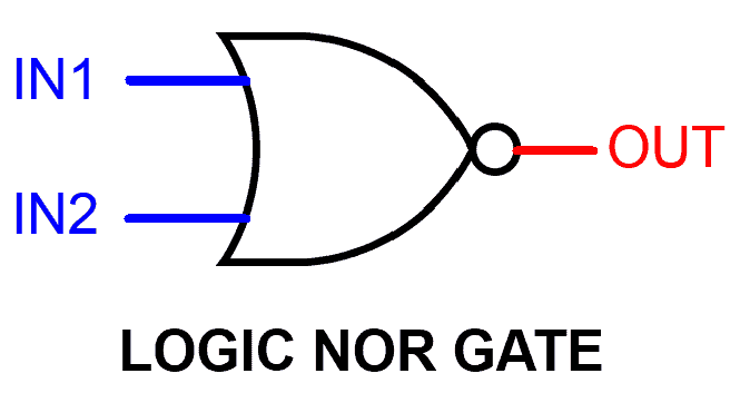 Logic NOR gate