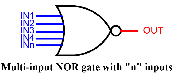 MULTI-INPUT NOR GATE