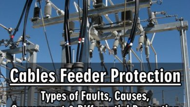 Photo of Cables Feeder Protection – Faults Types, Causes & Differential Protection
