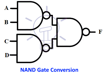 NAND gate conversion