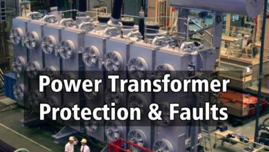 Power Transformer Protection & Faults