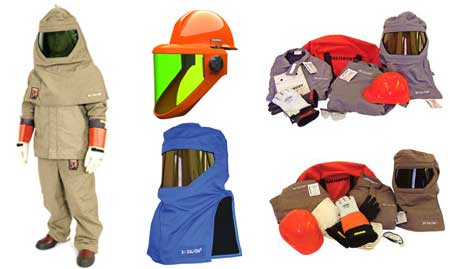 Arc flash protective clothing