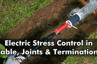 Electric Stress Control in Cable, Joints & Terminations