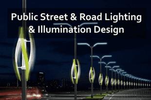 Public Street & Road Lighting & Illumination Design