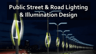 Photo of Public Street & Road Lighting & Illumination Design