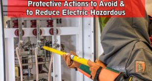 Protective Actions to Avoid & to Reduce Electric Hazardous