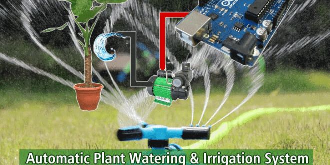 Automatic Plant Watering & Irrigation System – Circuit, Code & Project Report