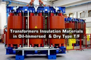 Transformers Insulation Materials in Oil-Immersed & Dry Type T/F