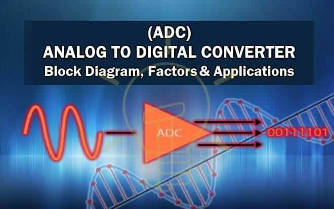 Analog to Digital Converter (ADC) - Block Diagram, Factors