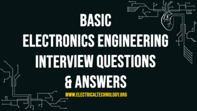 Photo of Basic Electronics Engineering Interview Questions & Answers