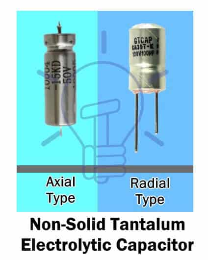 Non-Solid Tantalum Electrolytic Capacitor