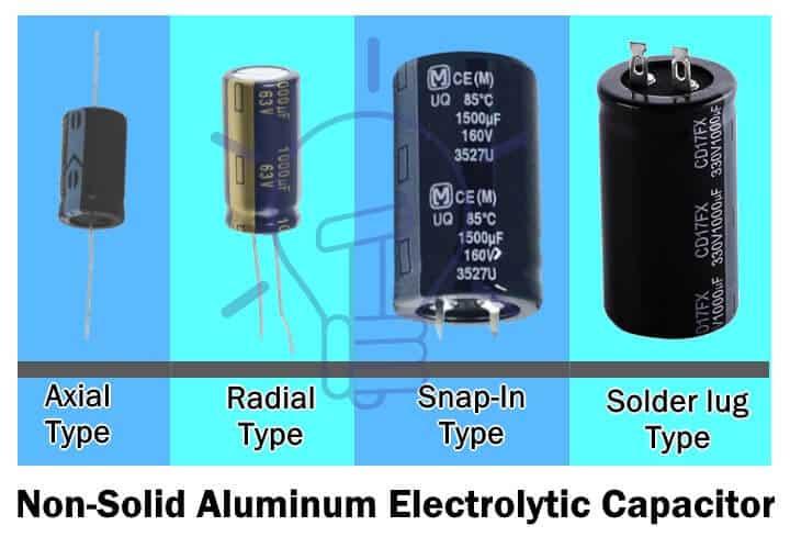 Non-solid Aluminium Electrolytic Capacitor