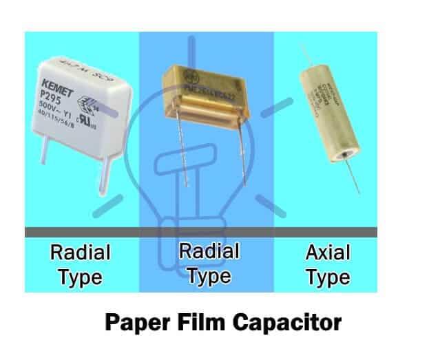 Paper Film Capacitor
