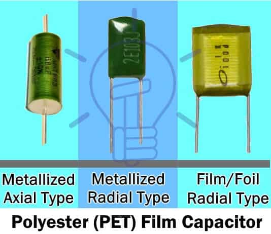 Polyester (PET) Film Capacitor