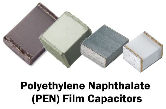 Polyethylene Naphthalate (PEN) Film Capacitors
