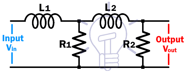 RL 2nd Order Low Pass Filter