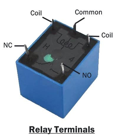 Relay Terminals identification