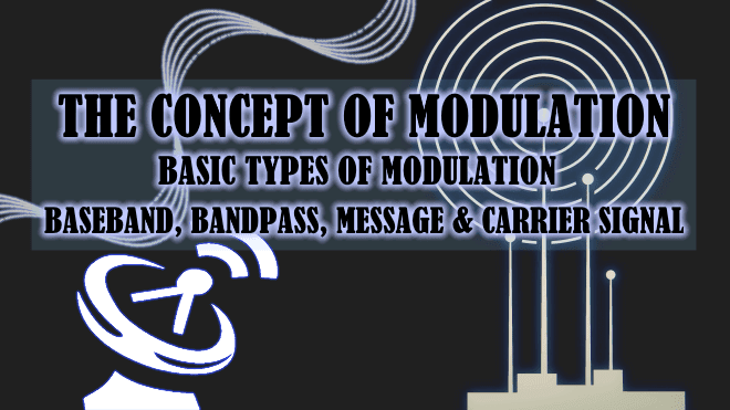 The Modulation Concept & Basic Types of Modulation