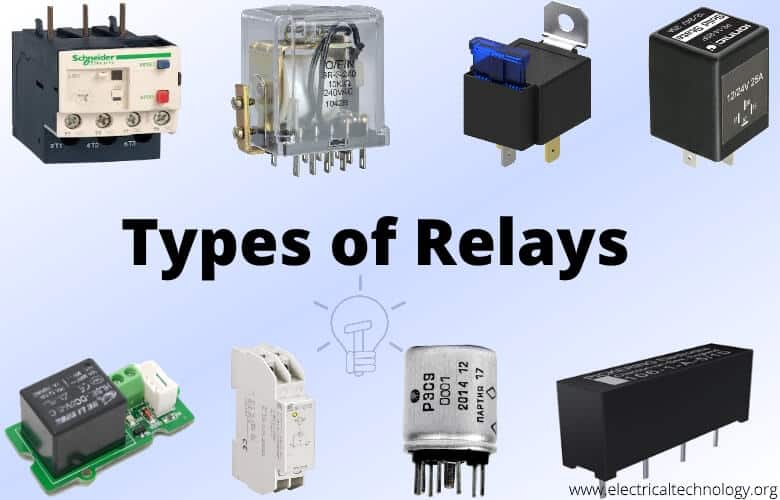 What Is Relay Different Types Of Relays, Its Operation & Applications