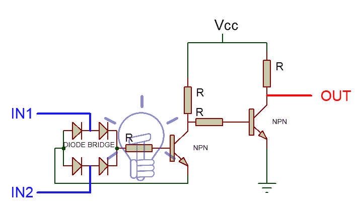 XOR Gate Using BJT & Diodes