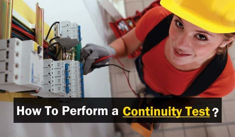 Fantastic How To Perform A Continuity Test For Electric Components With Wiring 101 Ziduromitwellnesstrialsorg