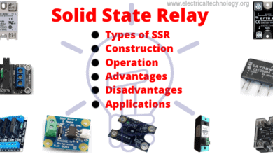 Solid State Relay (SSR) - Types of SSR Relays