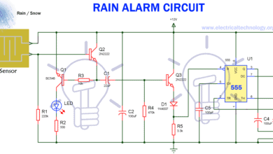 Photo of Rain Alarm Circuit – Snow, Water and Rain Detector Project