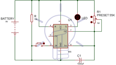 Photo of 1 Minute, 5 Minute, 10 Minute and 15 Minute Timer Circuit Diagram
