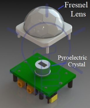 Construction of PIR Sensor