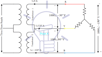 Photo of Open Delta Connections of Transformers