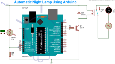 Photo of Automatic Night Lamp Using Arduino