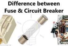 Photo of Main Difference between Fuse and Circuit Breaker