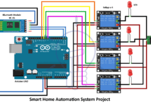 Photo of Smart Home Automation System – Circuit and Source Code