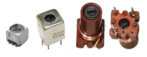 Variable Ferrite core inductor