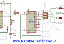 Photo of Cable and Wire Tester Circuit Diagram