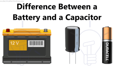 Photo of Difference Between a Battery and a Capacitor