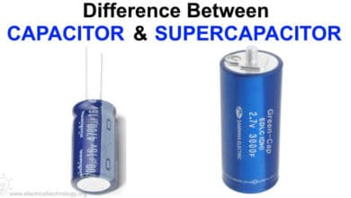 Photo of Difference Between Capacitor and Supercapacitor