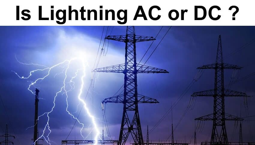 Is Lightning AC or DC