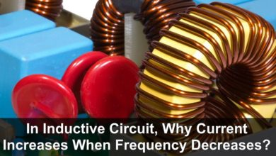 In Inductive Circuit, Why Current Increases When Frequency Decreases