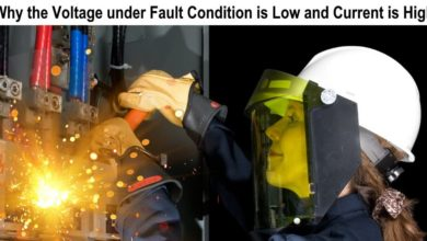 Photo of Why the Reactance & Voltage under Fault Condition is Low and Current is High