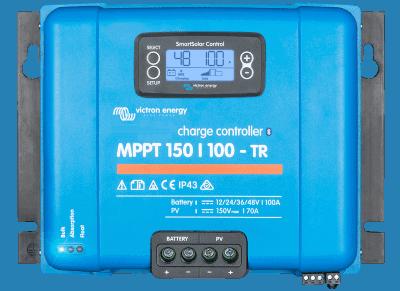 5-100 Ampere , 12-48V, Max 170A, 150V, MPPT Charge Controller