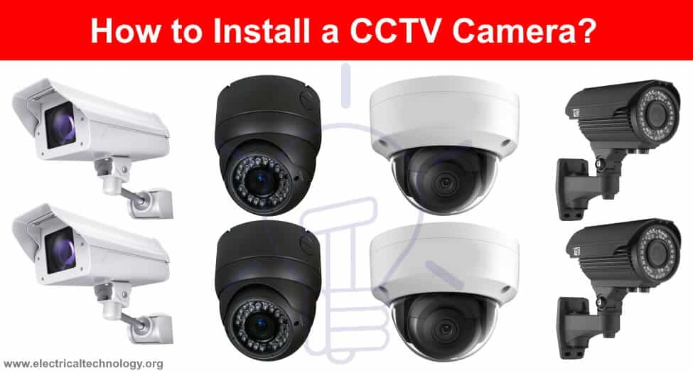 How To Install A Cctv Camera Cctv Camera Installation With Dvr