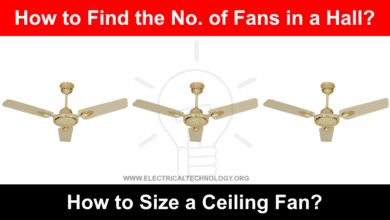 Photo of How to Size and Find the Numbers of Ceiling Fan in a Room?